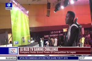Imaji Faruna Wins LG OLED TV Gaming Challenge