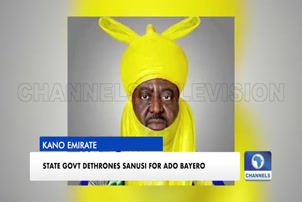 Kano State Government Dethrones Sanusi For Ado Bayero