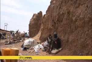 Kano ancient city walls in Nigeria