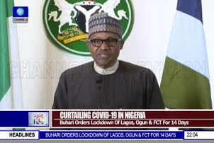 Buhari Orders Lockdown Of Lagos, Ogun And FCT For 14 Days