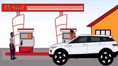 The Fuel Attendant  Funny Cartoon Video