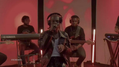 Rema Performs Iron Man on Jimmy Kimmel Live