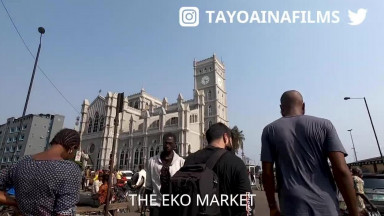 Nigerian Street Food Tour With Joe Hattab - Crazy Street Life in Lagos