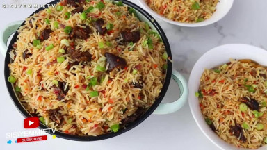 Delicious Spicy Rice -  It is IRRESISTIBLE! Mummy's Popular Pepper Rice!