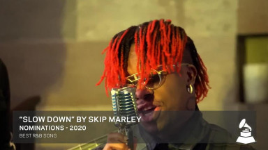 Oxlade Performs Cover Of Skip Marley's Slow Down
