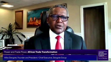Dangote Group Founder on African Trade Transformation