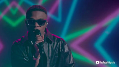 Wizkid  Mighty Wine Live  A Day in the Live