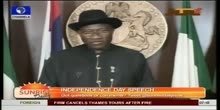 Presidential Address On The Occasion Of Nigeria 53rd Independence Day Pt.1