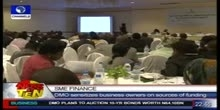 DMO sensitizes business owners on sources of funding
