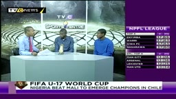 TVC Sports Centre speaks to Nigerian starlets Victor Osimhen and Funsho Bamgboye