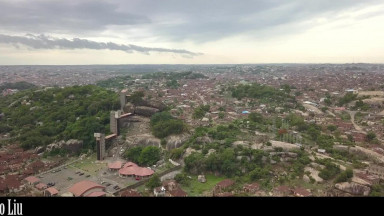 Birds Eye View of Olumo Rock Abeokuta