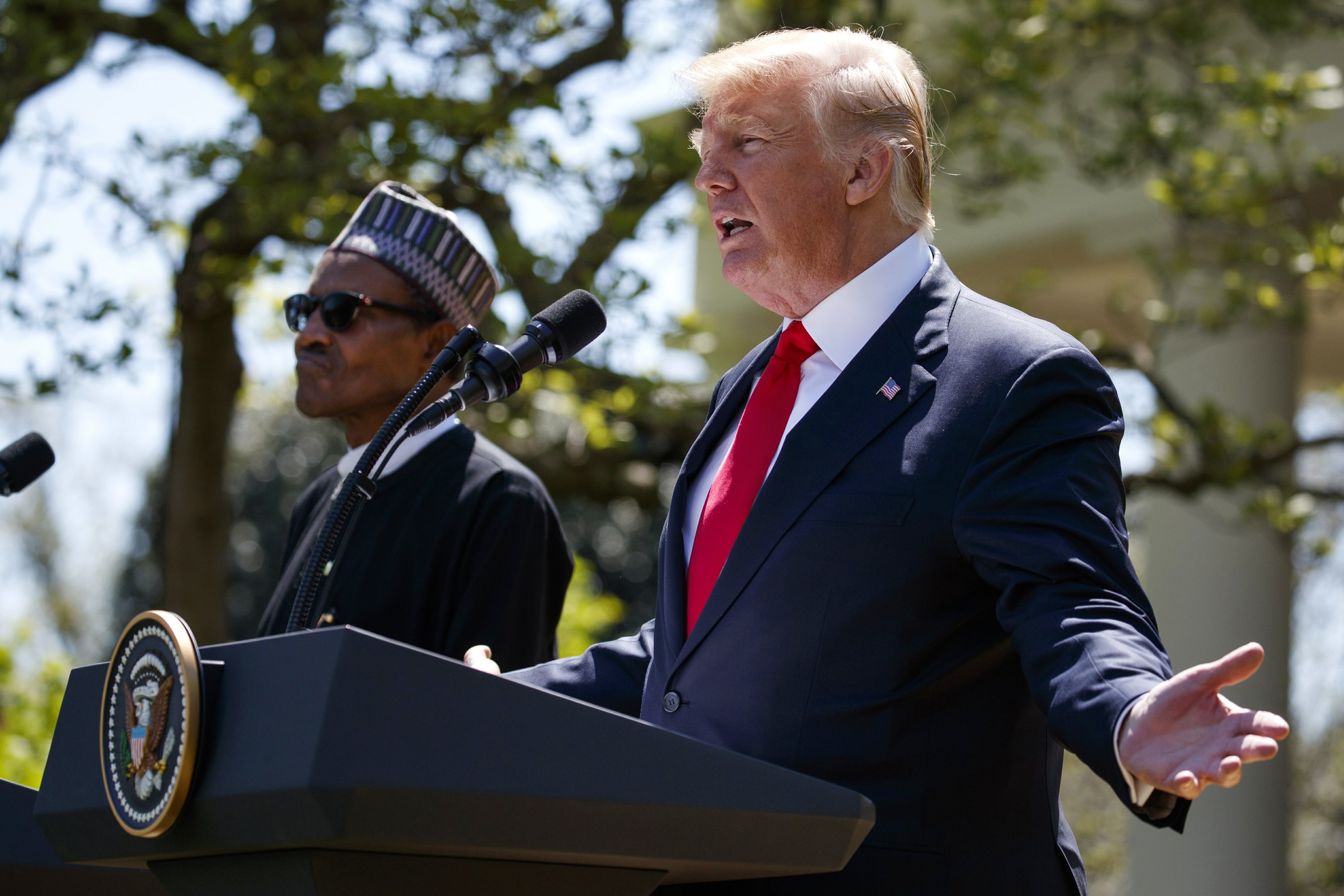President Donald Trump on terrorism and persecuted Christians in Nigeria