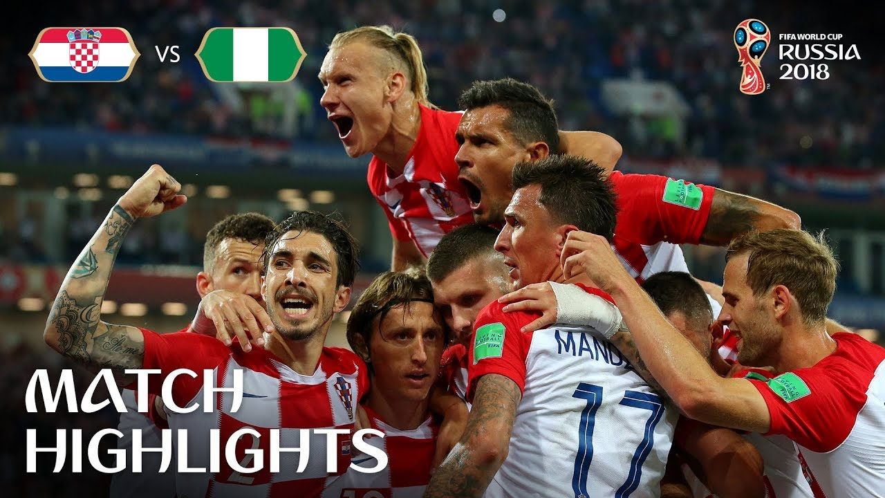 2018 FIFA World Cup Highlights - Croatia vs Nigeria
