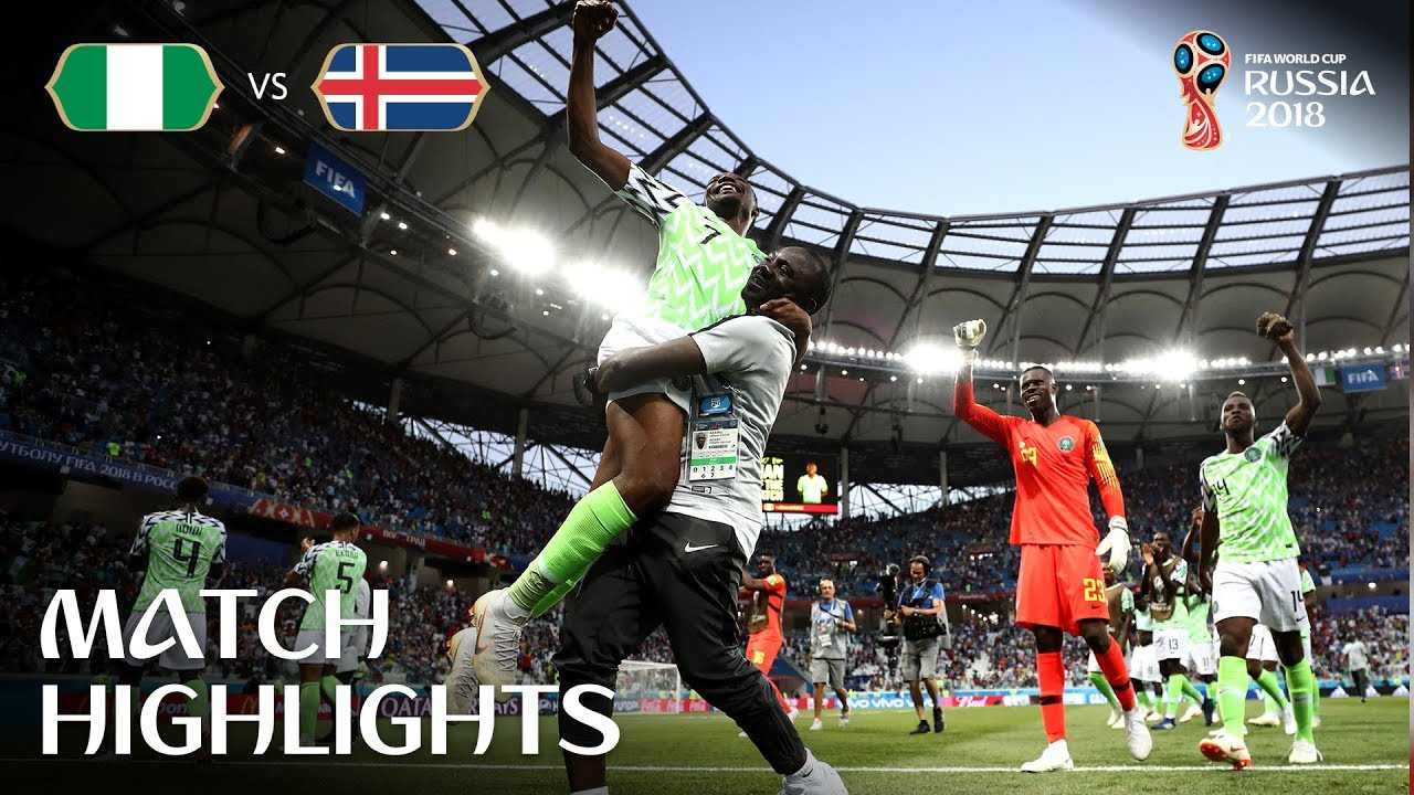 Highlights 2018 FIFA World Cup: Nigeria vs Iceland