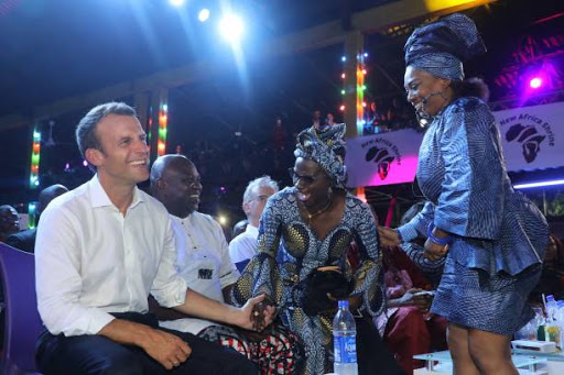 Macron begins Nigeria visit with trip to famed nightclub