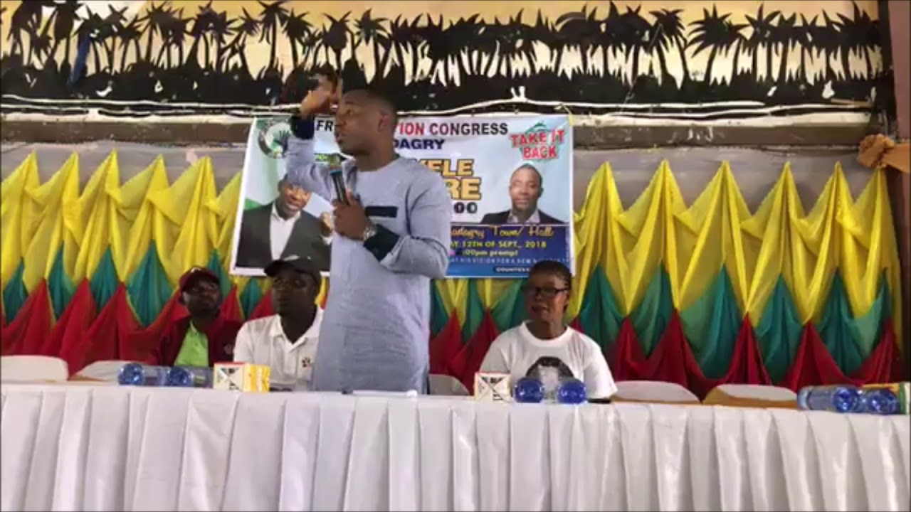 Omoyele Sowore Badagry Town Hall Meeting