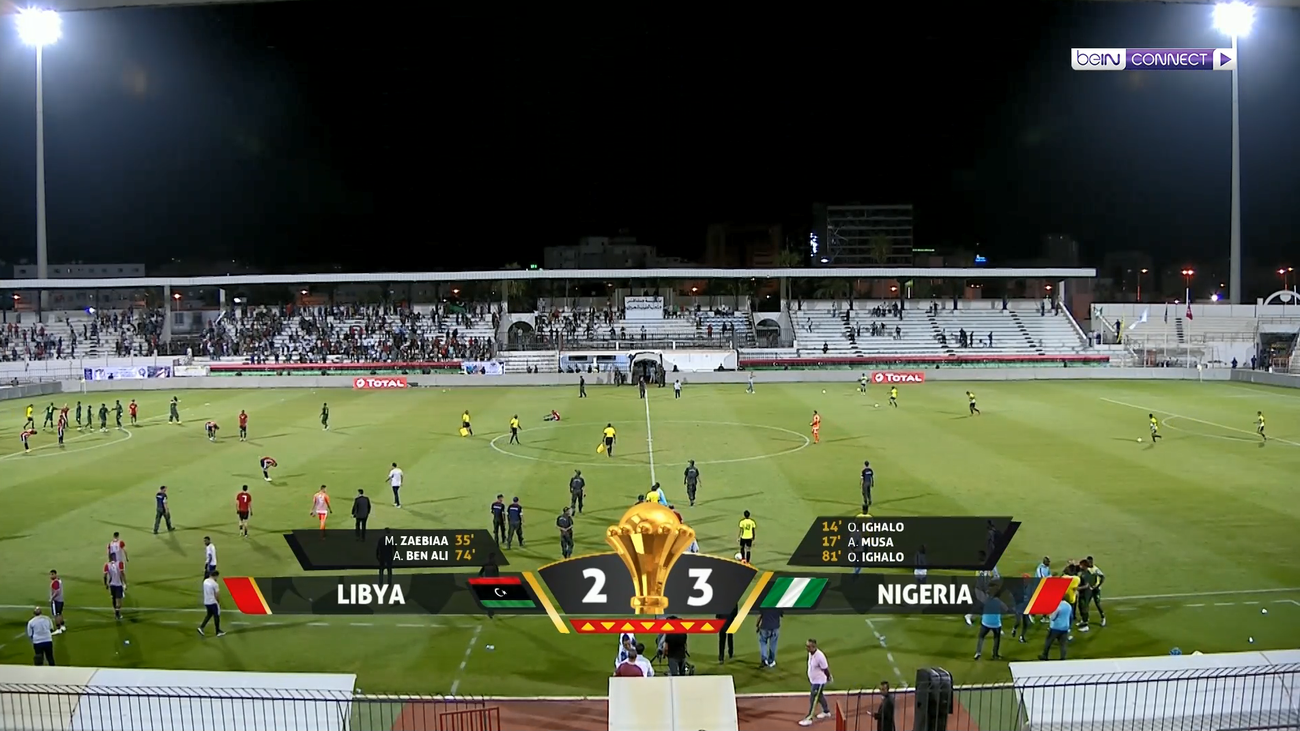 LIBYA vs NIGERIA 2-3 Highlights Africa Cup of Nations