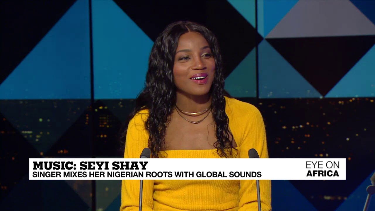 "Seyi Shay Talks ""Gimme Love"" & Taking Afrobeats Global on France24"