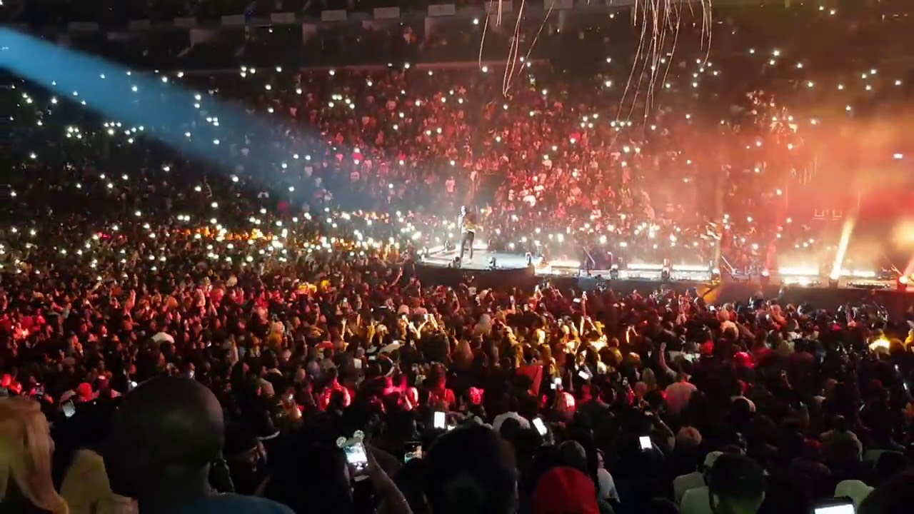 Davido sold out O2 Arena London on stage with Jamaican superstar Popcaan