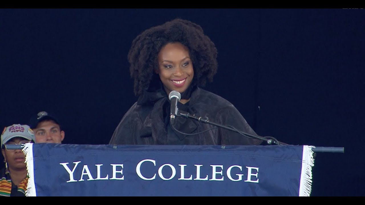 Chimamanda Adichie, 2019 Yale Class Day Speaker