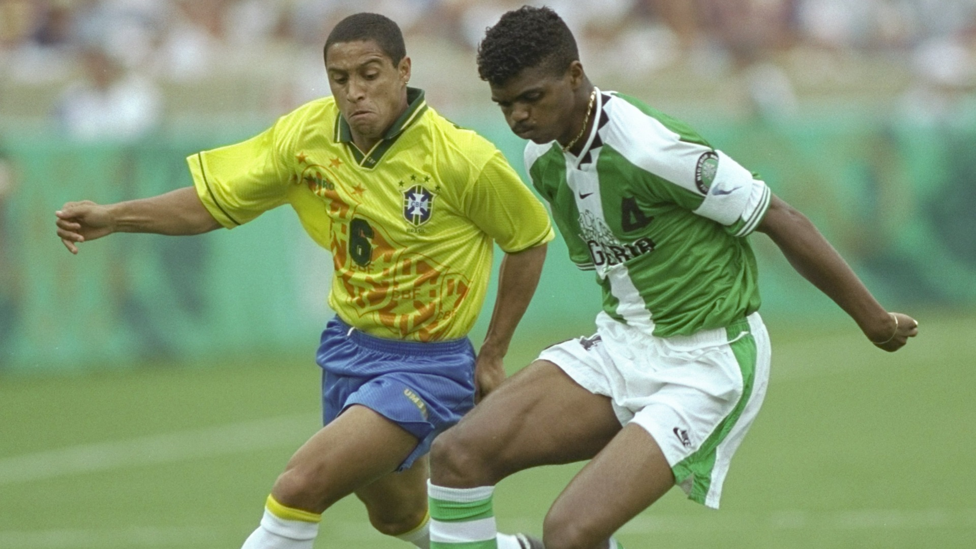 Nigeria Vs Brazil 1996 Olympic Semi-Finals