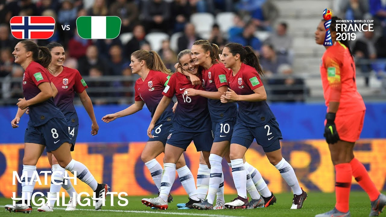 Norway vs Nigeria - FIFA Womens World Cup France 2019