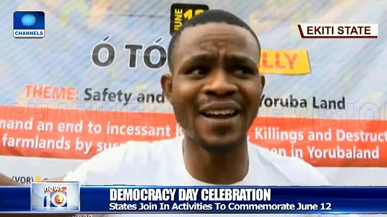 How States Mark Democracy Day Across Nigeria